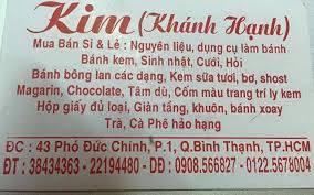 Cửa hàng bán nguyên liệu làm bánh Thành phố Hồ Chí Minh