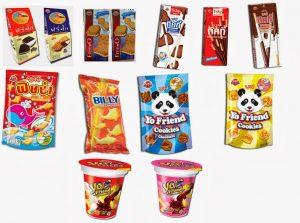 Bánh kẹo Thái Lan nhập khẩu được sự tin dùng của người Việt