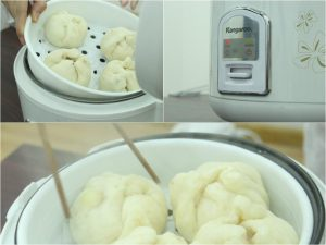 Cách hấp bánh bao ngon bằng nồi cơm điện