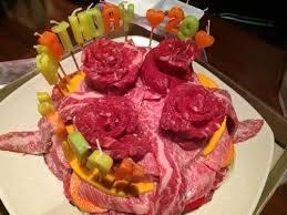 Bánh sinh nhật thịt bò