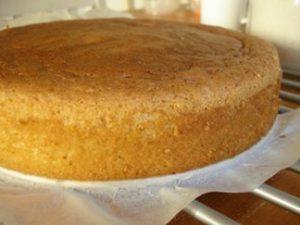 Dạy làm bánh bông lan - Nướng bánh