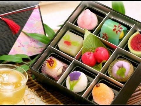 bánh wagashi có tính thẩm mỹ cao